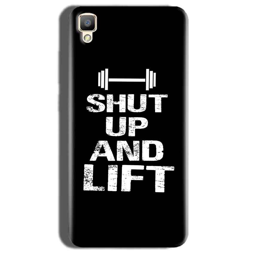 Oppo F1 Plus Mobile Covers Cases Shut Up And Lift - Lowest Price - Paybydaddy.com