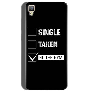 Oppo F1 Plus Mobile Covers Cases Single Taken At The Gym - Lowest Price - Paybydaddy.com