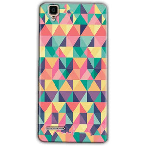 Oppo F1 Mobile Covers Cases Prisma coloured design - Lowest Price - Paybydaddy.com