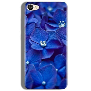 Oppo F3 Mobile Covers Cases Blue flower - Lowest Price - Paybydaddy.com