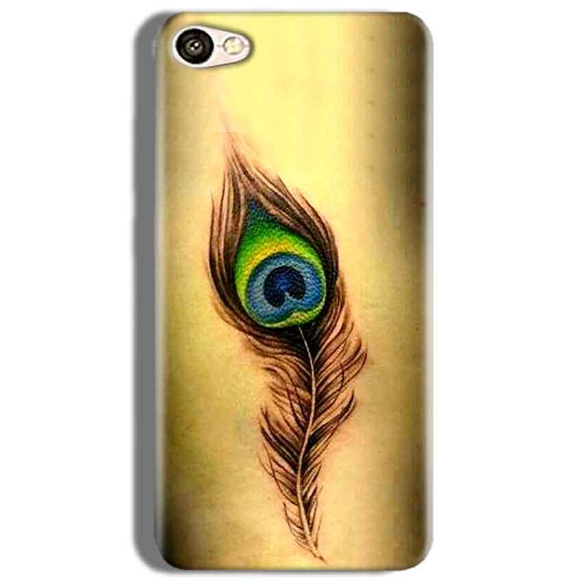Oppo F3 Mobile Covers Cases Peacock coloured art - Lowest Price - Paybydaddy.com
