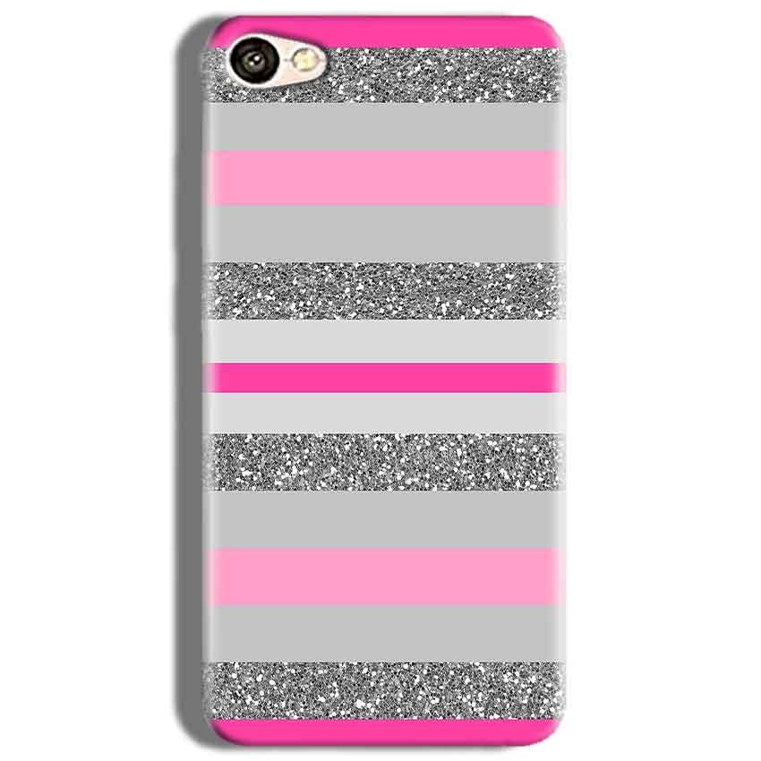 Oppo F3 Mobile Covers Cases Pink colour pattern - Lowest Price - Paybydaddy.com