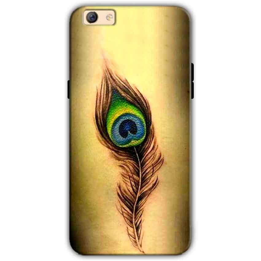 Oppo F3 Plus Mobile Covers Cases Peacock coloured art - Lowest Price - Paybydaddy.com