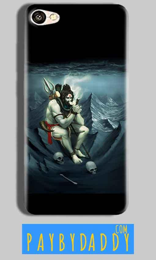 Oppo F3 Plus Shiva Smoking Mobile Back Cover Case
