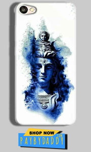 Oppo F3 Mobile Covers Cases Shiva Blue White - Lowest Price - Paybydaddy.com