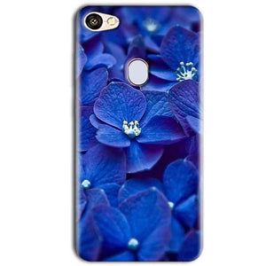 Oppo F5 Mobile Covers Cases Blue flower - Lowest Price - Paybydaddy.com