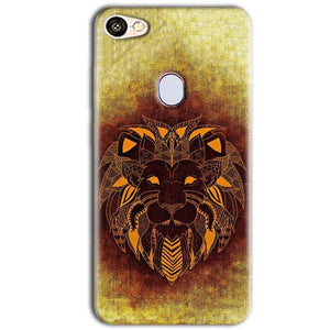 Oppo F5 Mobile Covers Cases Lion face art - Lowest Price - Paybydaddy.com