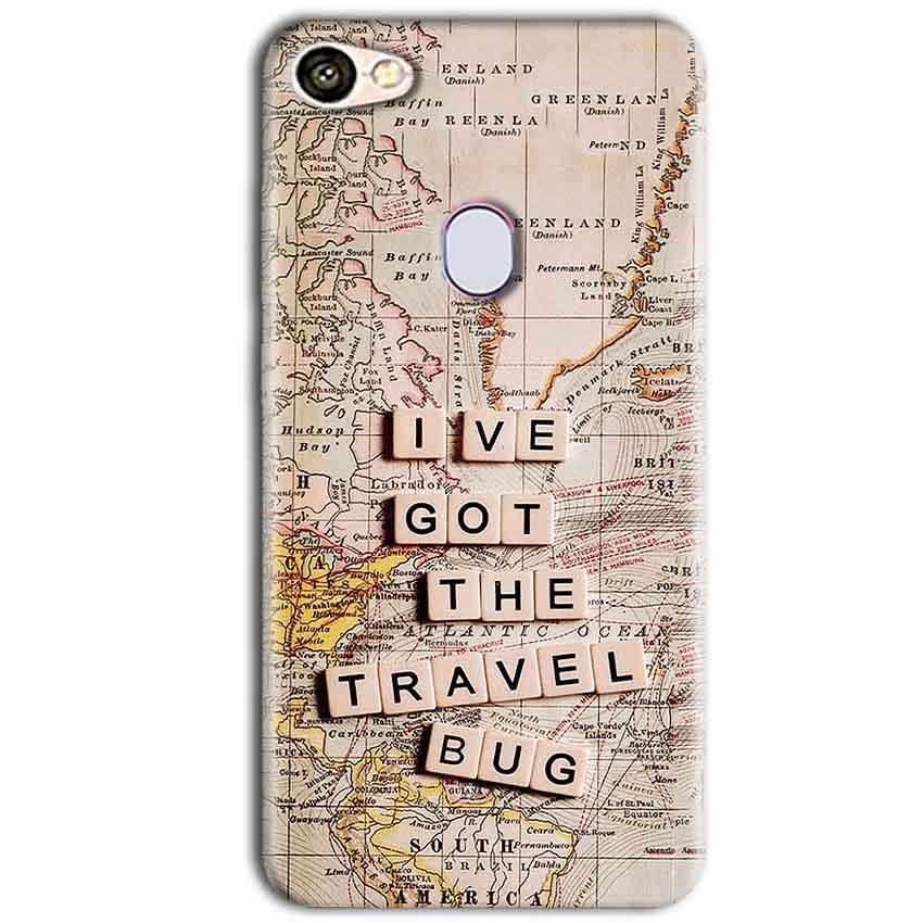 Oppo F5 Mobile Covers Cases Live Travel Bug - Lowest Price - Paybydaddy.com