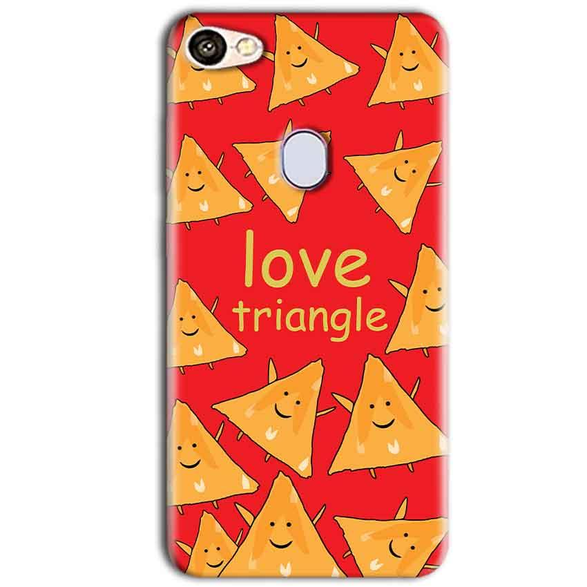 Oppo F5 Mobile Covers Cases Love Triangle - Lowest Price - Paybydaddy.com