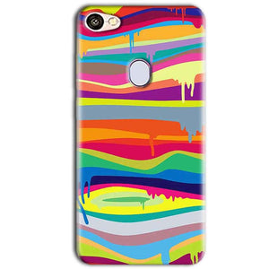 Oppo F5 Mobile Covers Cases Melted colours - Lowest Price - Paybydaddy.com