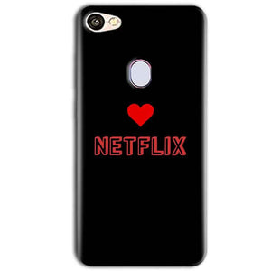 Oppo F5 Mobile Covers Cases NETFLIX WITH HEART - Lowest Price - Paybydaddy.com