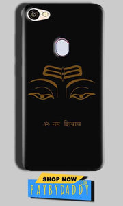 Oppo F5 Mobile Covers Cases Om Namaha Gold Black - Lowest Price - Paybydaddy.com