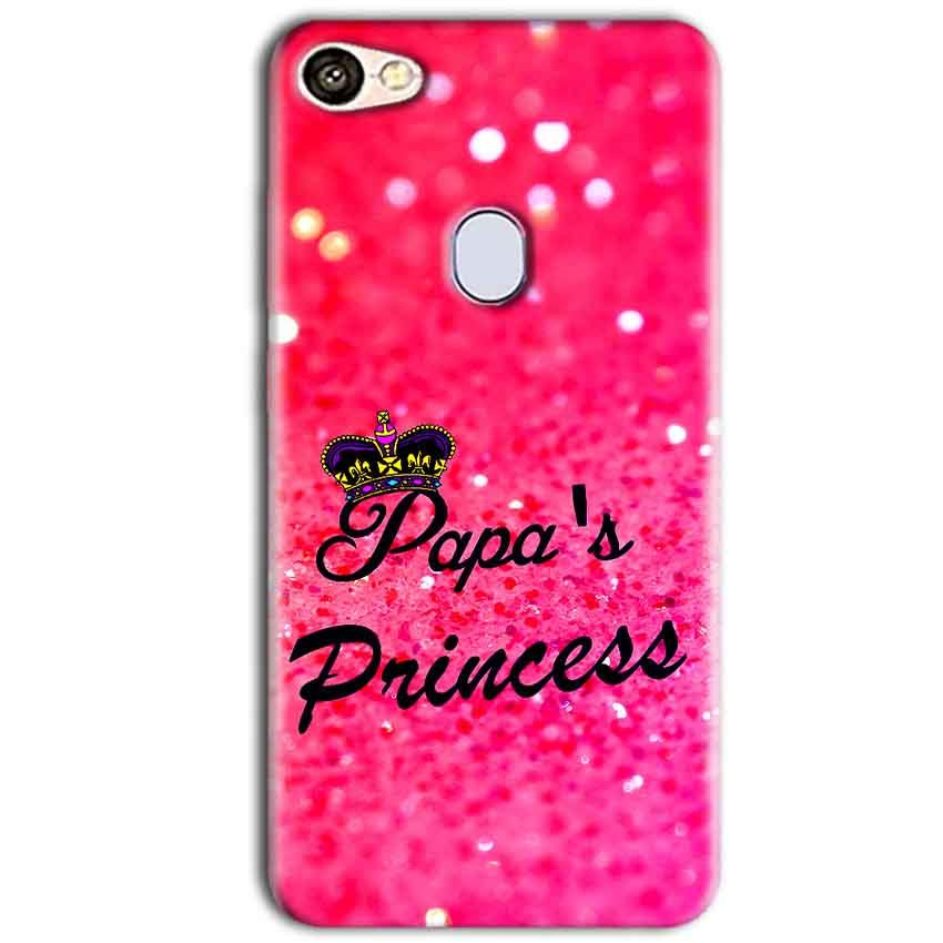 Oppo F5 Mobile Covers Cases PAPA PRINCESS - Lowest Price - Paybydaddy.com