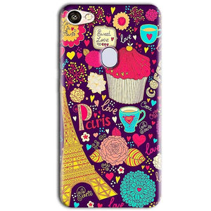 Oppo F5 Mobile Covers Cases Paris Sweet love - Lowest Price - Paybydaddy.com