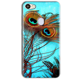 Oppo F5 Mobile Covers Cases Peacock blue wings - Lowest Price - Paybydaddy.com
