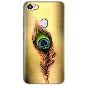 Oppo F5 Mobile Covers Cases Peacock coloured art - Lowest Price - Paybydaddy.com