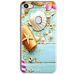 Oppo F5 Mobile Covers Cases Pearl Star Fish - Lowest Price - Paybydaddy.com