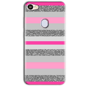 Oppo F5 Mobile Covers Cases Pink colour pattern - Lowest Price - Paybydaddy.com