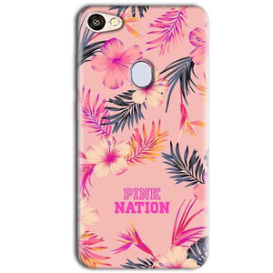 Oppo F5 Mobile Covers Cases Pink nation - Lowest Price - Paybydaddy.com