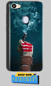 Oppo F5 Mobile Covers Cases Shiva Hand With Clilam - Lowest Price - Paybydaddy.com