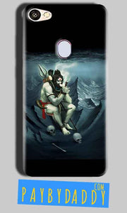 Oppo F5 Mobile Covers Cases Shiva Smoking - Lowest Price - Paybydaddy.com