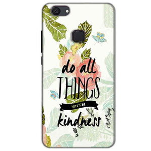 Oppo F7 Mobile Covers Cases Do all things with kindness - Lowest Price - Paybydaddy.com