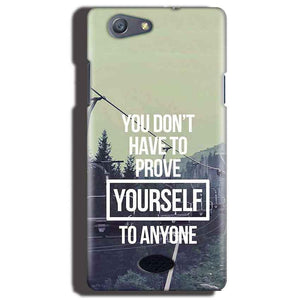 Oppo Neo 5 Mobile Covers Cases Donot Prove yourself - Lowest Price - Paybydaddy.com