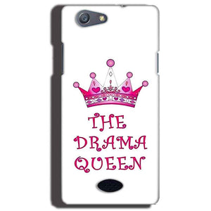 Oppo Neo 5 Mobile Covers Cases Drama Queen - Lowest Price - Paybydaddy.com