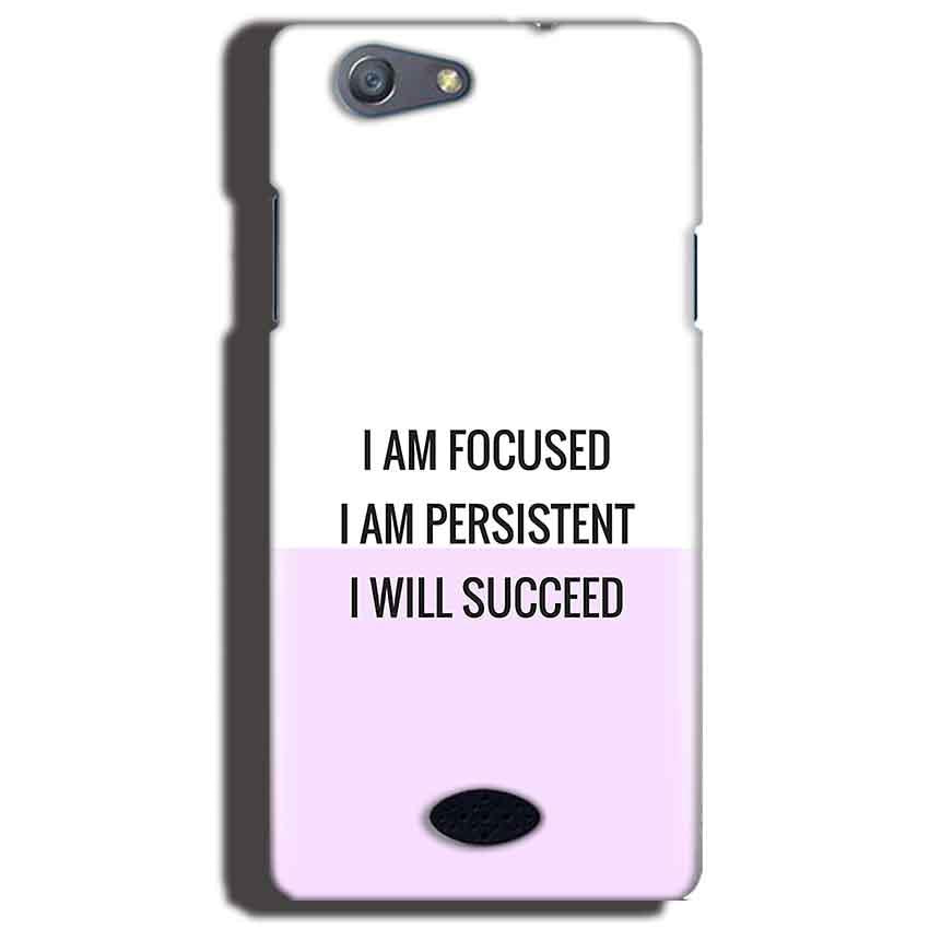 Oppo Neo 5 Mobile Covers Cases I am Focused - Lowest Price - Paybydaddy.com