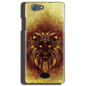 Oppo Neo 5 Mobile Covers Cases Lion face art - Lowest Price - Paybydaddy.com