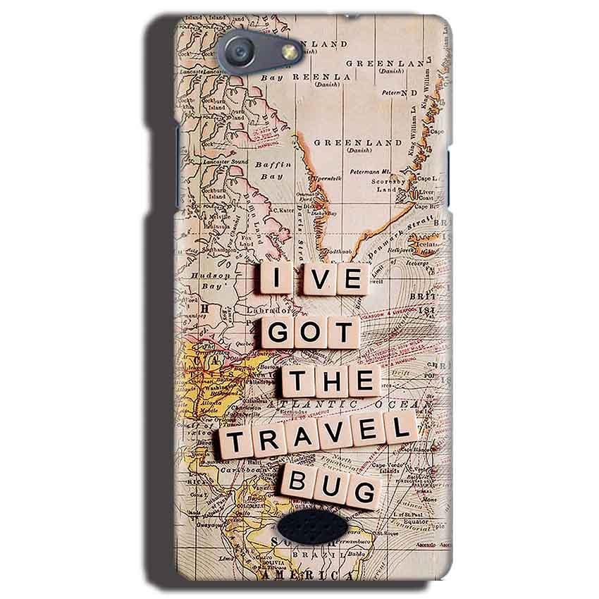 Oppo Neo 5 Mobile Covers Cases Live Travel Bug - Lowest Price - Paybydaddy.com