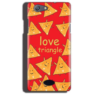 Oppo Neo 5 Mobile Covers Cases Love Triangle - Lowest Price - Paybydaddy.com