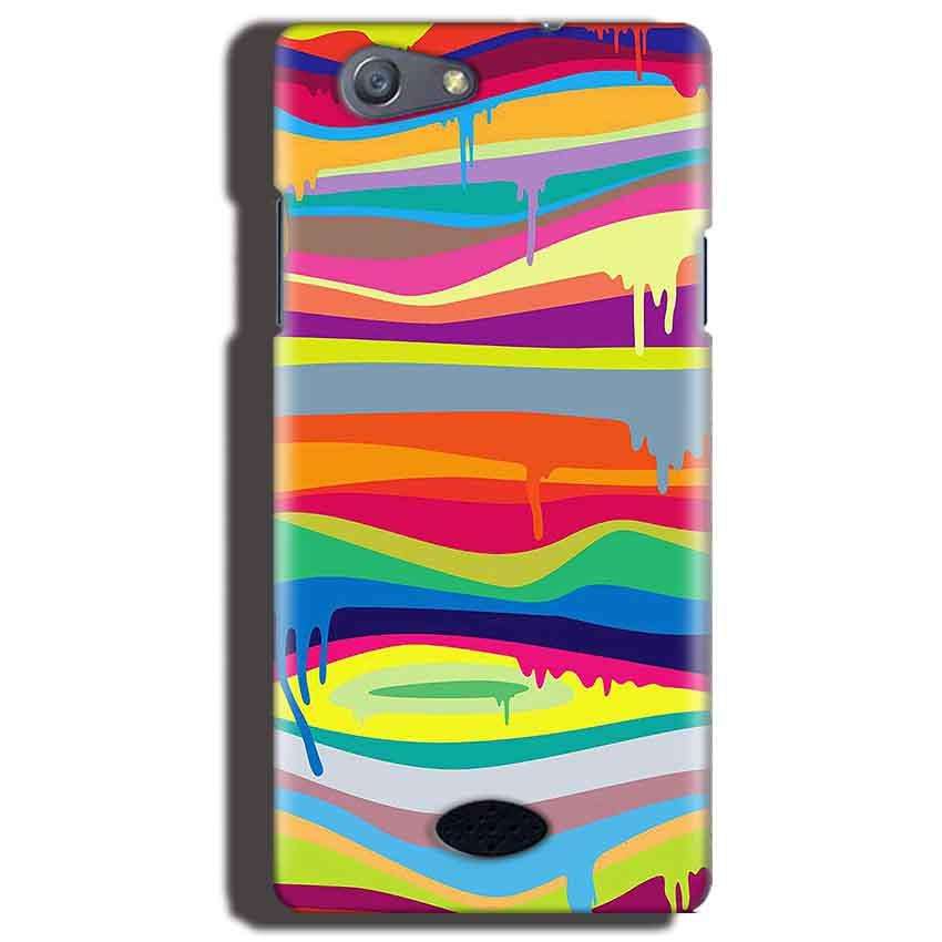 Oppo Neo 5 Mobile Covers Cases Melted colours - Lowest Price - Paybydaddy.com