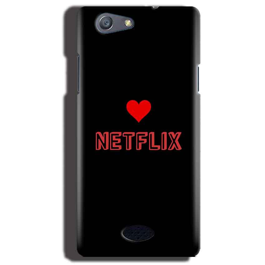 Oppo Neo 5 Mobile Covers Cases NETFLIX WITH HEART - Lowest Price - Paybydaddy.com