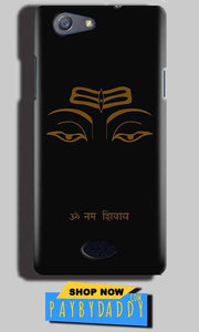 Oppo Neo 5 Mobile Covers Cases Om Namaha Gold Black - Lowest Price - Paybydaddy.com