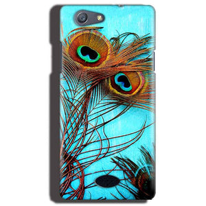 Oppo Neo 5 Mobile Covers Cases Peacock blue wings - Lowest Price - Paybydaddy.com