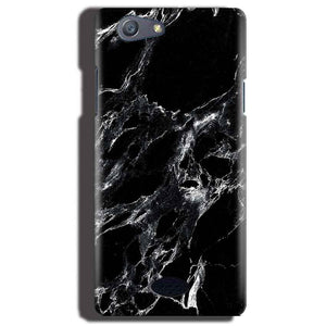 Oppo Neo 5 Mobile Covers Cases Pure Black Marble Texture - Lowest Price - Paybydaddy.com