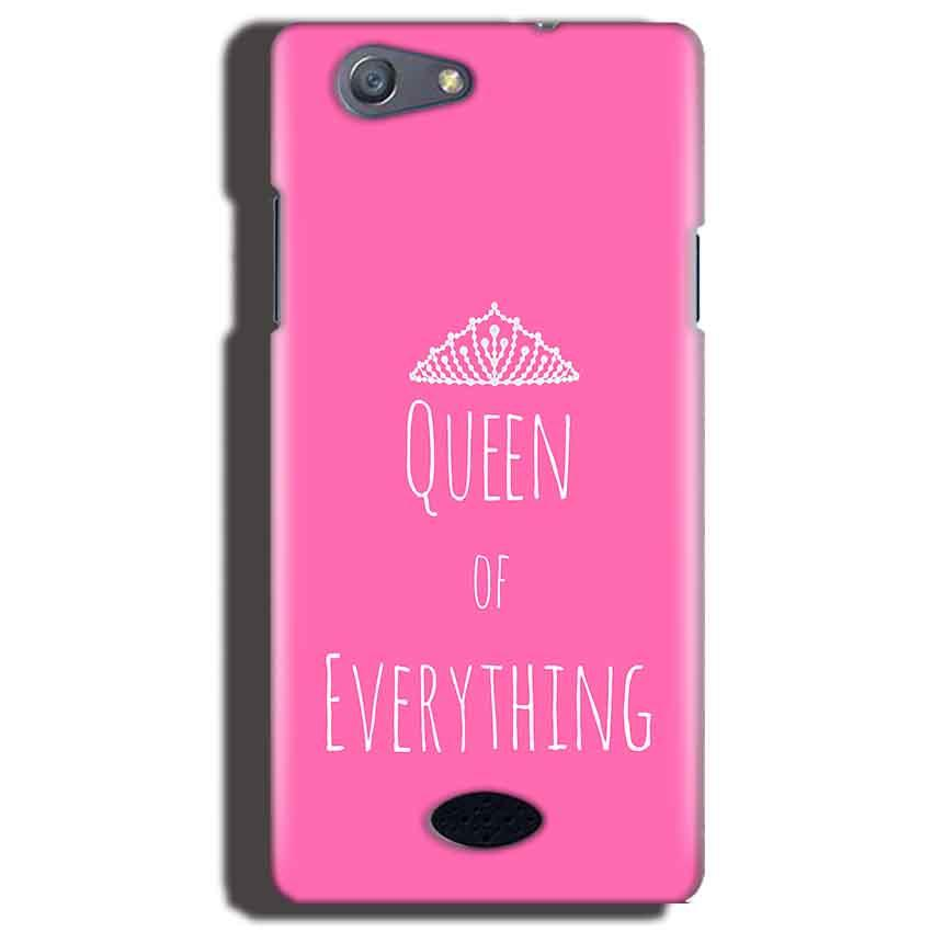 Oppo Neo 5 Mobile Covers Cases Queen Of Everything Pink White - Lowest Price - Paybydaddy.com