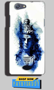 Oppo Neo 5 Mobile Covers Cases Shiva Blue White - Lowest Price - Paybydaddy.com
