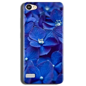 Oppo Neo 7 Mobile Covers Cases Blue flower - Lowest Price - Paybydaddy.com