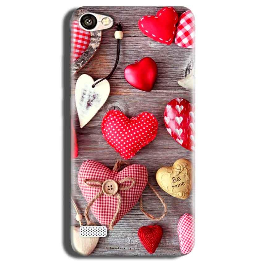 Oppo Neo 7 Mobile Covers Cases Hearts- Lowest Price - Paybydaddy.com