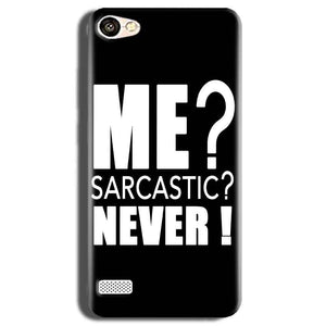 Oppo Neo 7 Mobile Covers Cases Me sarcastic - Lowest Price - Paybydaddy.com