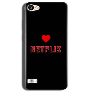 Oppo Neo 7 Mobile Covers Cases NETFLIX WITH HEART - Lowest Price - Paybydaddy.com