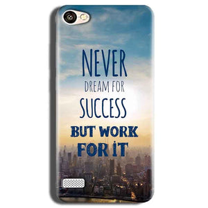 Oppo Neo 7 Mobile Covers Cases Never Dreams For Success But Work For It Quote - Lowest Price - Paybydaddy.com