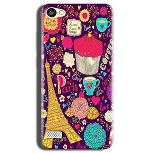 Oppo Neo 7 Mobile Covers Cases Paris Sweet love - Lowest Price - Paybydaddy.com