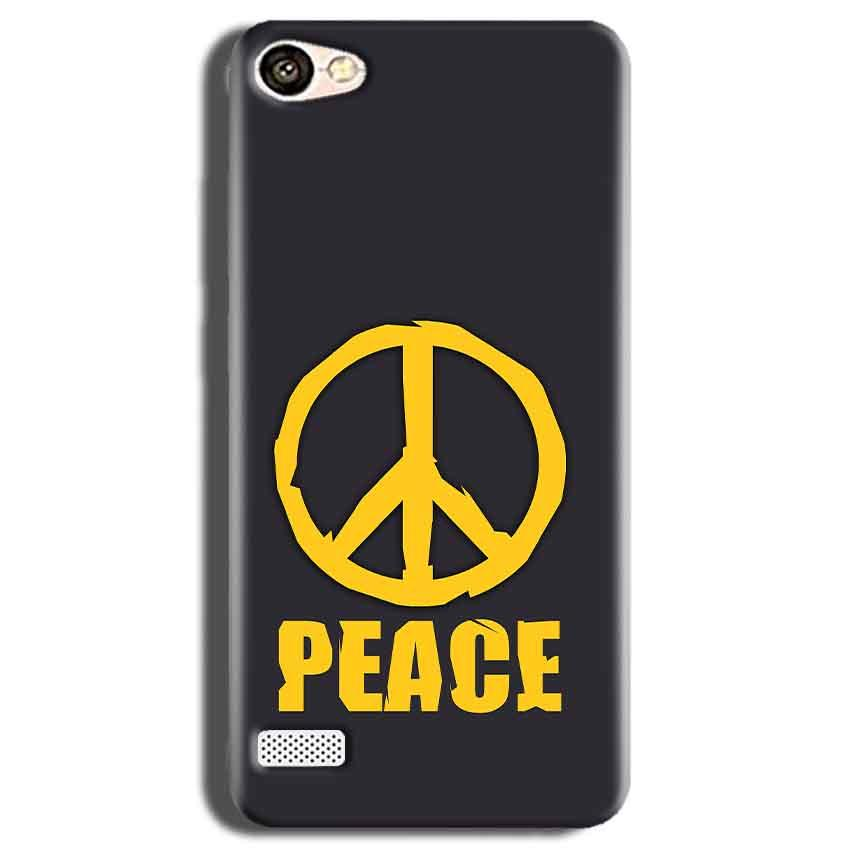 Oppo Neo 7 Mobile Covers Cases Peace Blue Yellow - Lowest Price - Paybydaddy.com