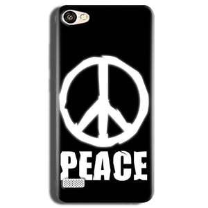 Oppo Neo 7 Mobile Covers Cases Peace Sign In White - Lowest Price - Paybydaddy.com