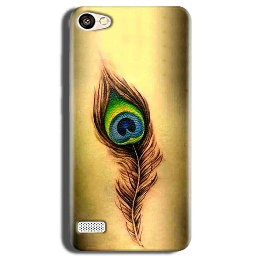 Oppo Neo 7 Mobile Covers Cases Peacock coloured art - Lowest Price - Paybydaddy.com
