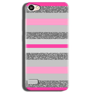 Oppo Neo 7 Mobile Covers Cases Pink colour pattern - Lowest Price - Paybydaddy.com