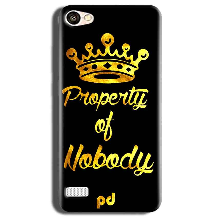 Oppo Neo 7 Mobile Covers Cases Property of nobody with Crown - Lowest Price - Paybydaddy.com